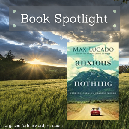 Book Spotlight-Anxious for Nothing