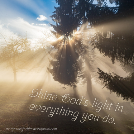 Shine Your Light Quote